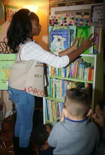 Gallery The Giving Bookshelf