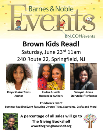 Brown Kids Read- Giving Bookshelf