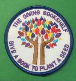 The Giving Bookshelf Patch